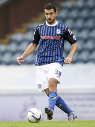 Dicker spent five months at Rochdale last season.
