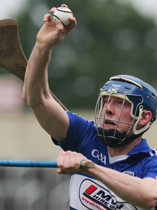 Stephen Maher got Laois off to a great start today.