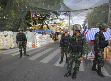 Thai army seizes power in military coup · TheJournal ie