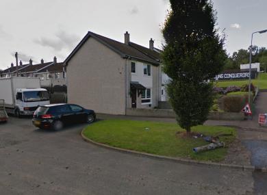 The Lacken Walk area of Newtownabbey (File photo)