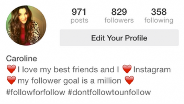 What Your Instagram Bio Says About You