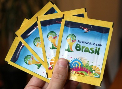 World Cup Panini stickers are continuing to prove popular with fans.