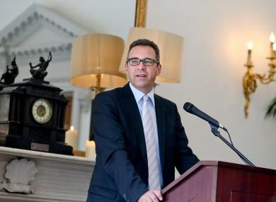 Dr Joachim Pfeiffer in Dublin this week