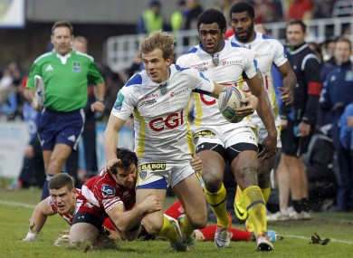 Rougerie was one of the three Clermont players attacked.
