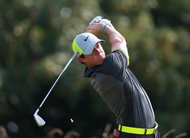 Rory McIlroy was in sensational scoring form on Friday.