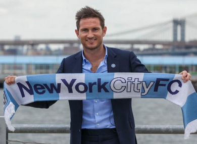 2b12c854d It s official  Frank Lampard joins soon-to-be MLS side New York City FC
