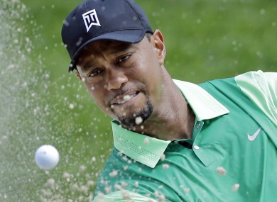 Tiger only returned to action last month following back surgery.