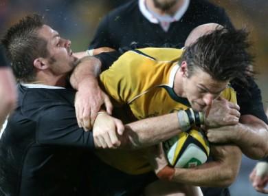 Australia halted the All Blacks' winning streak at 17.