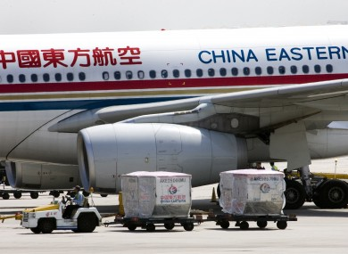 File photo of a China Eastern Airlines plane