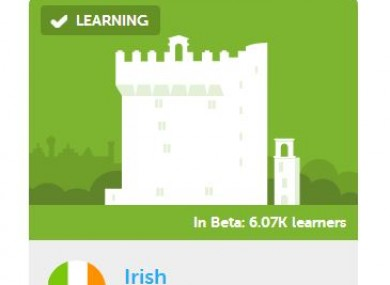 Want to brush up on your Irish? Duolingo (unofficially