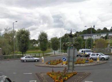 Queen Street roundabout, Enniskillen