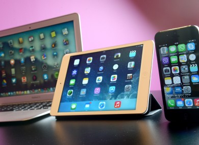 A Macbook Air, iPad Mini and iPhone 5, devices that won't be announced since they already exist (duh!).