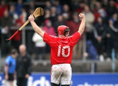 Crusheen's Gearoid O'Donnell celebrates (file photo).
