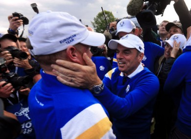 Donaldson's majestic approach shot won Europe the Ryder Cup.
