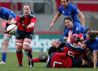 Guest has been doing damage for Munster from No. 8 [file photo].