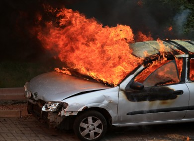 Serial Arsonist Man Accused Of Setting Fire To 11 Cars Thejournal Ie