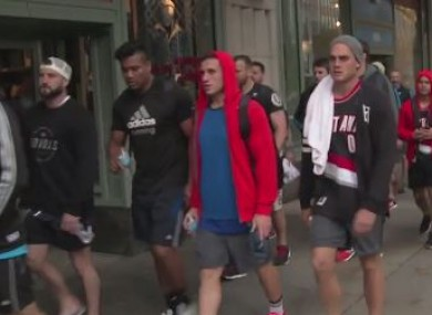 Savea, Dagg and co. could pass for a bunch of J1ers on the streets of Chicago.
