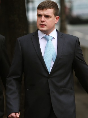 Andrew Richard Stewart who admitted setting fire to a family's pet dog.