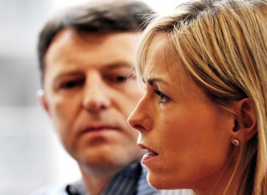 Gerry and Kate McCann.
