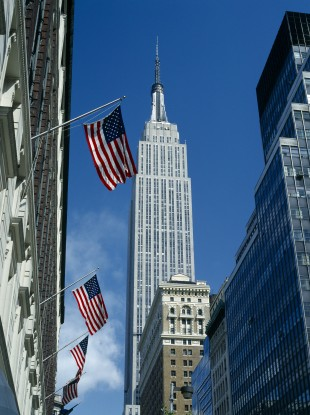 Amazon's physical store will be located across from the Empire State Building (pictured).