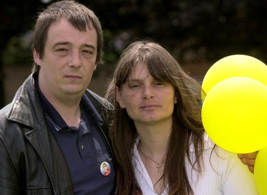 Michael Payne with his then wife Sara pictured in 2002.