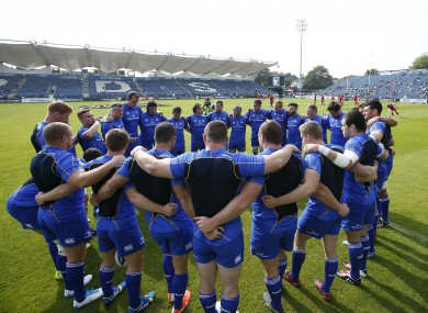 Leinster are hopeful of a winning evening at the RDS.