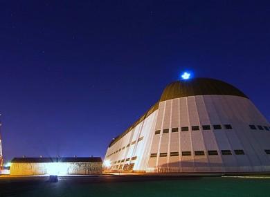 Moffett Field's Zeppelin Hanger