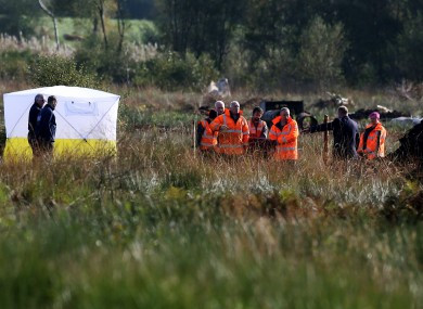 A search at Oristown bog this year.