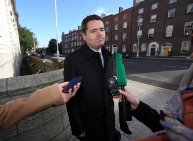 Transport Minister Paschal Donohoe