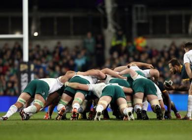 Ireland's scrum creaked against the Boks last weekend.