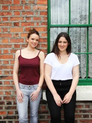 Elaine Lavery (left) and Hannah O'Reilly