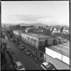 Outside view of RUC station, Castlereagh, Belfast.<span class=