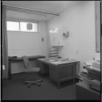 Medical room at the RUC station.<span class=