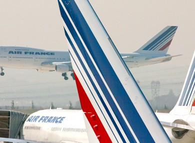 File photo of an Air France 747.