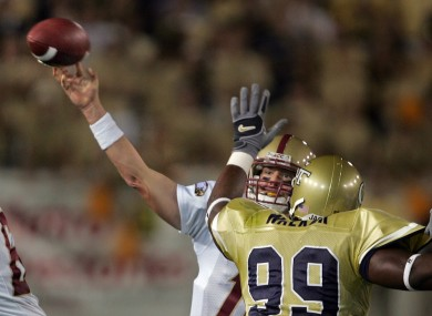 NFL quarterback Matt Ryan used to play for Boston College.