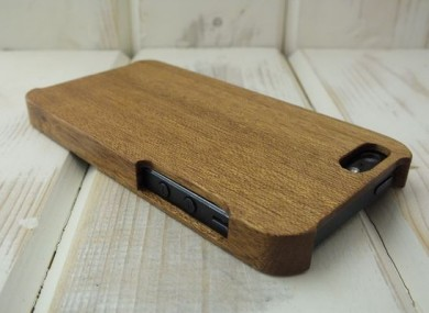 Mahogany iPhone 5/5S Case from Carve Cases.