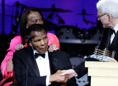 Boxing legend Muhammad Ali