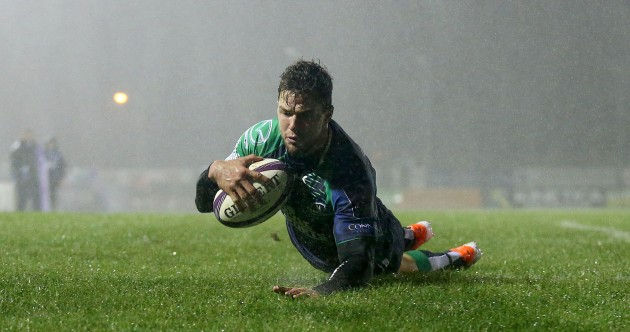 Danie Poolman on the double as five-try Connacht maul Bayonne