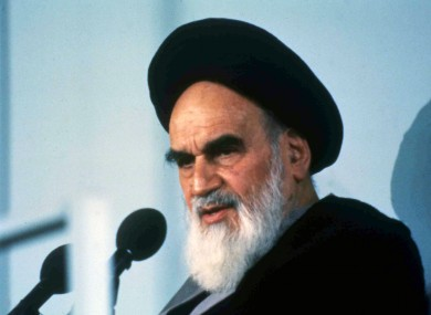 Iran's Ayatollah Khomeini