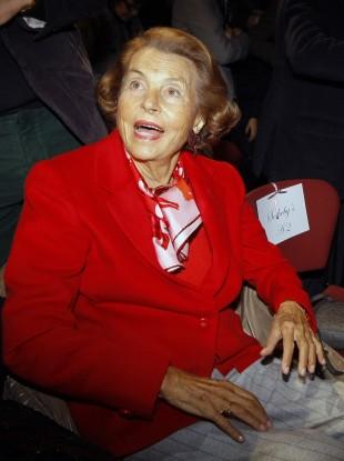 L'Oreal heiress Liliane Bettencourt
