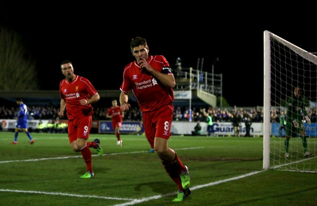 Departing Gerrard The Difference As Liverpool Overcome