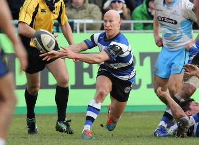 Stringer has been at Bath since 2013.