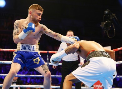 Carl Frampton was largely dominant against Chris Avalos.