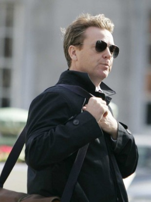 Rockstar economist: David McWilliams arriving at Leinster House today
