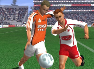 One of the screenshots from Gaelic Games: Football 2.