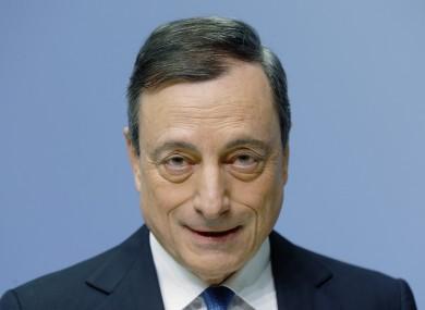 ECB boss Mario Draghi