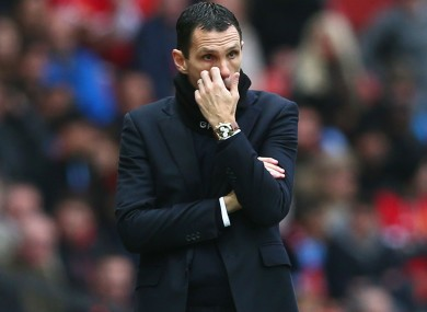 Sunderland manager Gus Poyet lamented the officials' decision following his side's loss.