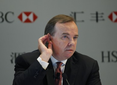 As if things weren't bad enough already - now HSBC's chief has a