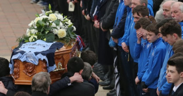 Emotional funeral held for boy (13) who died after schoolyard incident