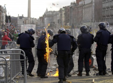 The 2006 'Love Ulster' parade in Dublin